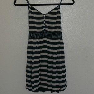 Hollister Dresses - Hollister Navy Dress women's dress Striped